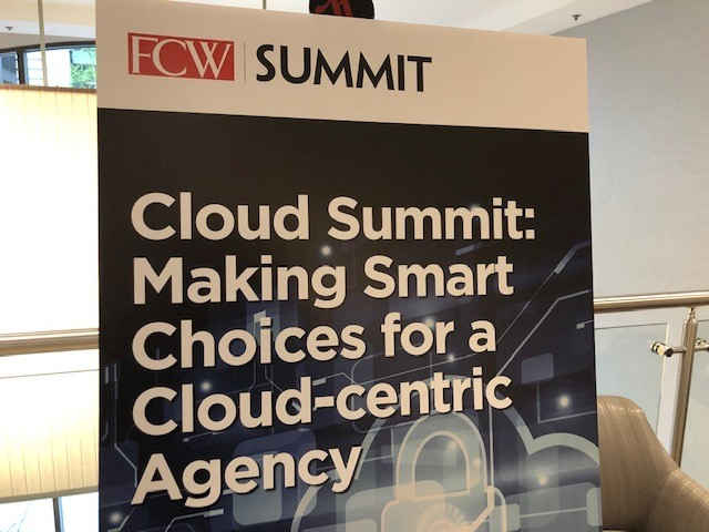 FCW Cloud Summit poster